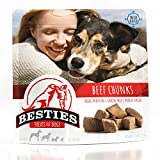 Image of BESTIES Dog Treats | Freeze Dried Beef Chunks | 6.72 oz | Grain Free | Human Grade | Healthy