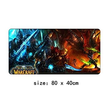 Alfombrilla De Ratón De 80x40 Cm World of Warcraft XL Grande ...