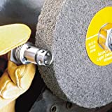 6 inch fine grinder wheel - 3M Scotch-Brite LD-WL Convolute Silicon Carbide Medium Deburring Wheel - Fine Grade - Arbor Attachment - 6 in Dia 1 in Center Hole - Thickness 1/2 in - 6000 Max RPM - 03994 [PRICE is per WHEEL]