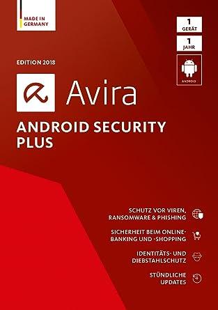 Avira Android Security Plus (2018) - 1 Gerät Standard: Amazon.de ...