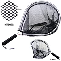 SAMSFX Aluminum Landing Nets Catch and Release Net Fish...