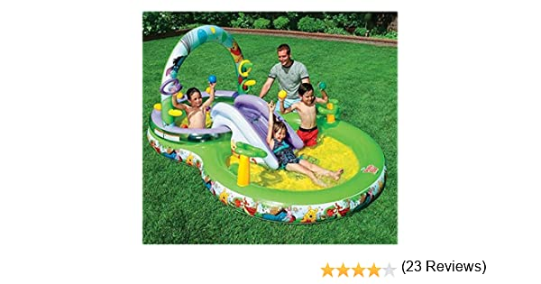 Intex - Piscina para niños Winnie The Pooh (57451): Amazon.es: Juguetes y juegos