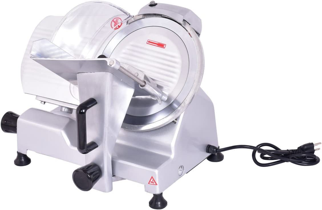 "Amazon.com: 10"" Blade Commercial Meat Slicer Deli Meat Cheese Food Slicer  Industrial Quality - By Choice Products: Kitchen & Dining"