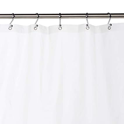 Amazon Eforgift Shower Stall Curtain Liner Polyester Fabric