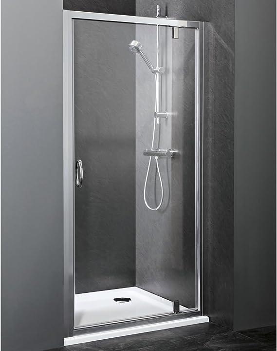 Hudson Reed Puerta de ducha Ella – Colgante para puerta de cristal ...