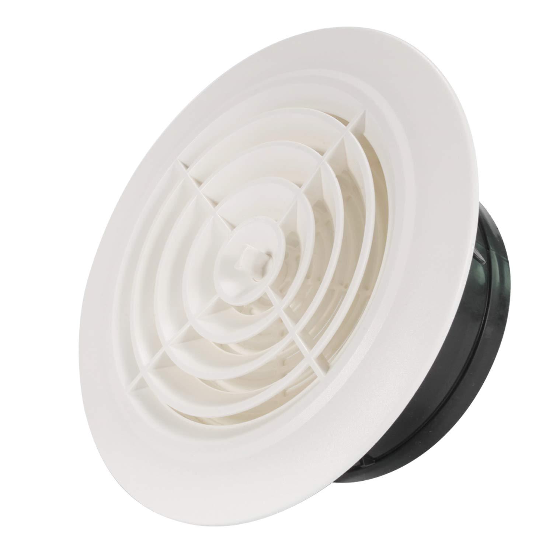 /ø75mm Hon/&Guan 3 Air Vent Air Grill Cover for Bathroom Office Home etc