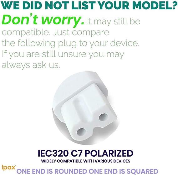 E24-C1 E601I-A3 POWER CORD VIZIO E500I-B1 E390-B1 E320I-A0 E470-A0