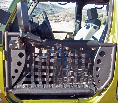 Body Armor 4×4 JK-6135Black – Steel Front Trail Doors 2007-2013 JK Jeep Wrangler (Pair)