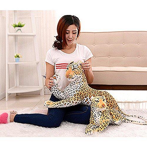 Tiger leopard Baby Plush Toy Stuffed Animal Doll Baby Birthday Shower Gift #2