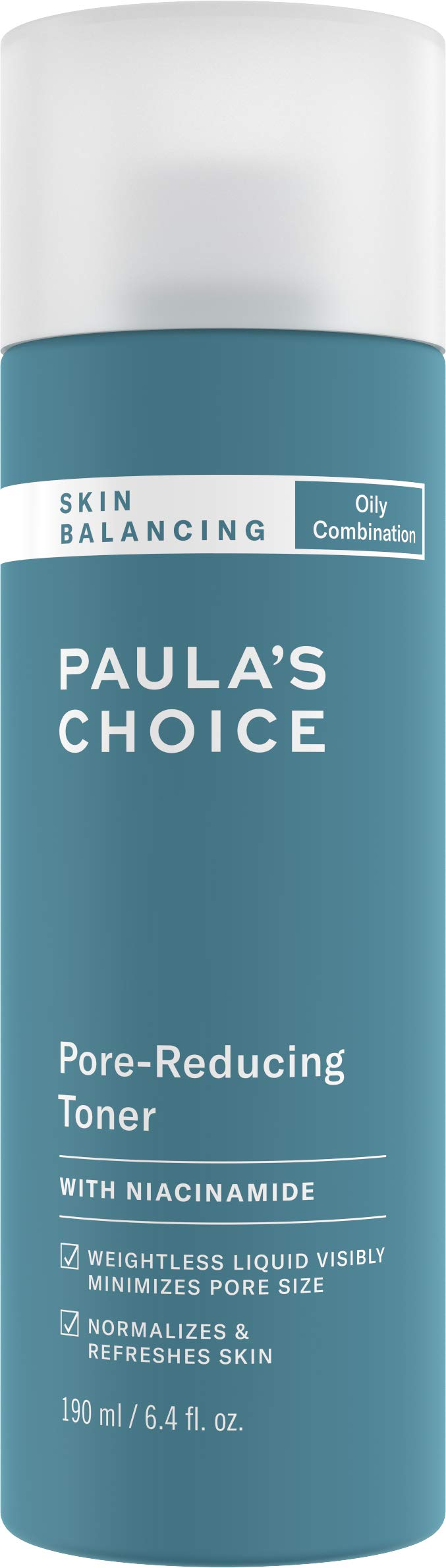 Paula's Choice-SKIN BALANCING Pore-Reducing Toner, 6.4 oz Bottle, for Combination/Oily Skin by PAULA'S CHOICE