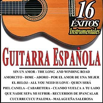 16 Éxitos Instrumentales. Guitarra Española de Estudios Talkback ...