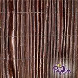 "Willow Fencing Screening Rolls - 5.0m x 2.0m (16ft 4"" x 6ft 6"")"