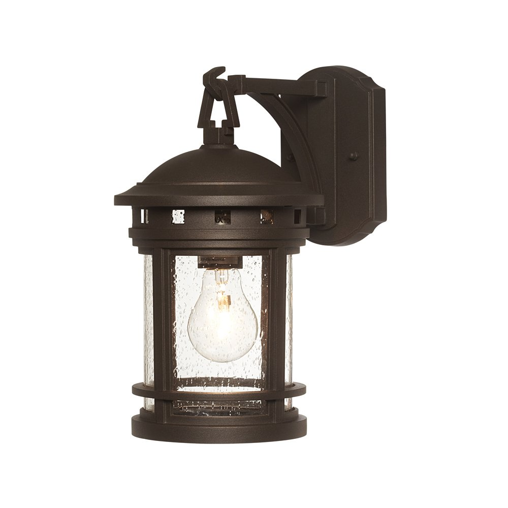 Designers Fountain 2371-ORB Sedona Wall Lanterns, Oil Rubbed Bronze