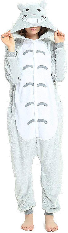 ANIMAL PJS - Pijama unisex con capucha, diseño de anime, para ...