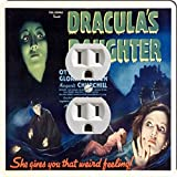 Rikki Knight 3706 Outlet Vintage Movie Posters Art Dracula's Daughter 2 Design Outlet Plate