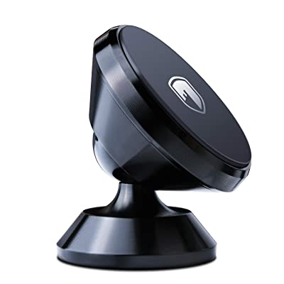 Magnetic Phone Holder Mount for Car - FITFORT Universal 360° Rotation Car Dashboard Stand with Super Strong Magnet Compatible Phone X XS XR MAX 8 Plus, S9 S8 Plus, GPS, Mini Tablet and More