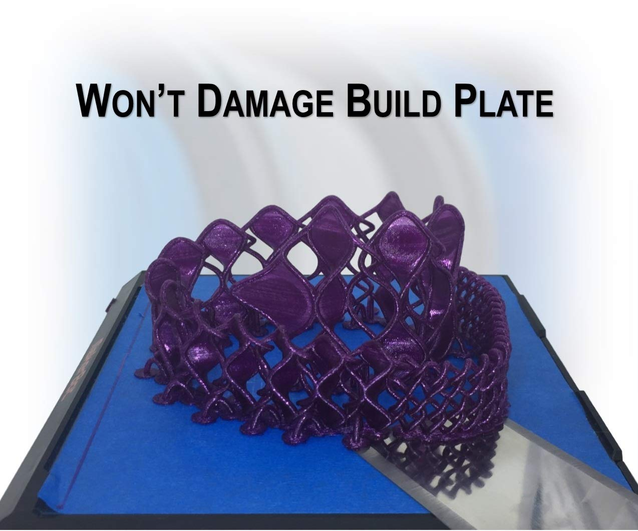 Easily Remove Prints from Builder Plate Without Damage to Print or Build Plate by 3D Start Point 3D Print Removal Tool Spatula Scraper