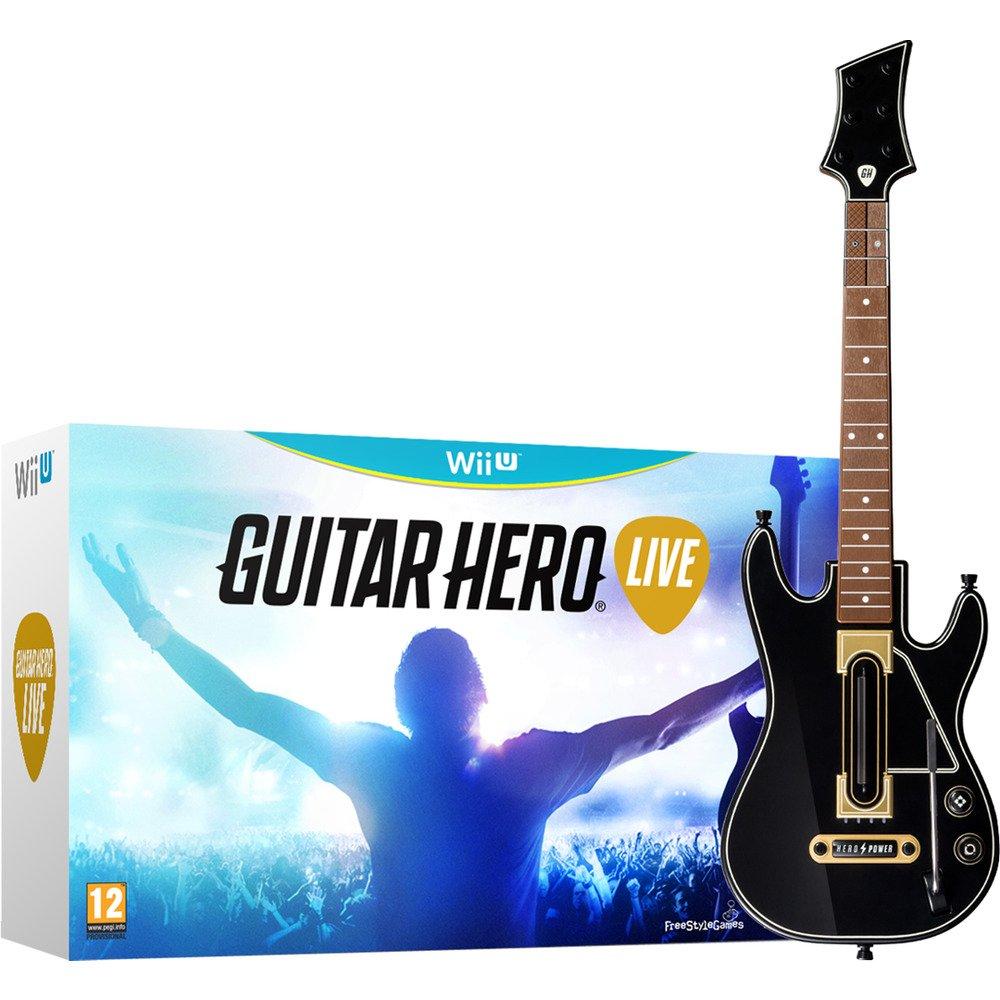 Activision Guitar Hero Live - Juego (Wii U, Soporte físico, Música ...