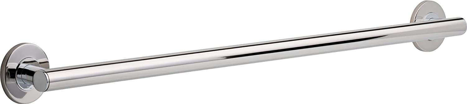 Amazon.com: Delta Faucet 41836, 36 Inch Contemporary Grab Bar, Polished  Chrome: Home Improvement