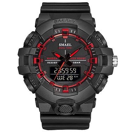 SW Watches SMAEL Relojes Deportivos para Hombres Militar 50M Impermeable Reloj LED Hombres Relojes Militares Reloj