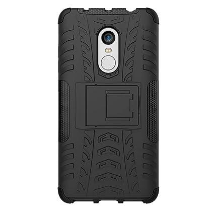 XiaoMi RedMi Note 4 Funda, 2in1 Armadura Combinación A Prueba de Choques Heavy Duty Escudo Cáscara Dura para XiaoMi RedMi Note 4 (Negro)