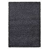"""Ottomanson Collection Solid Shag Rug, 3'3"""" x"""