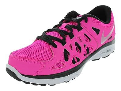 6fd76c9a95f9 Nike Girls  Dual Fusion Run 2 (GS) Running Shoes 4 Kids US (