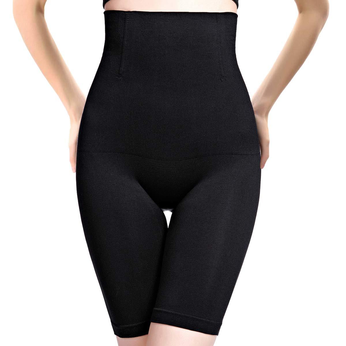 PANHAYO Womens Shapewear Tummy Control Shorts Thigh Slimmer High-Waist Panty Firm Control Body Shaper