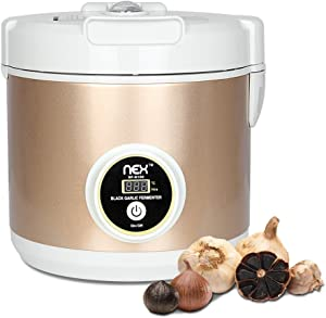 NEX Black Garlic Fermenter, 5L Large Capacity Full Automatic Intelligent Control Multiple Clove Garlic DIY Cooker Fermentation - Simple, Fast and Secure
