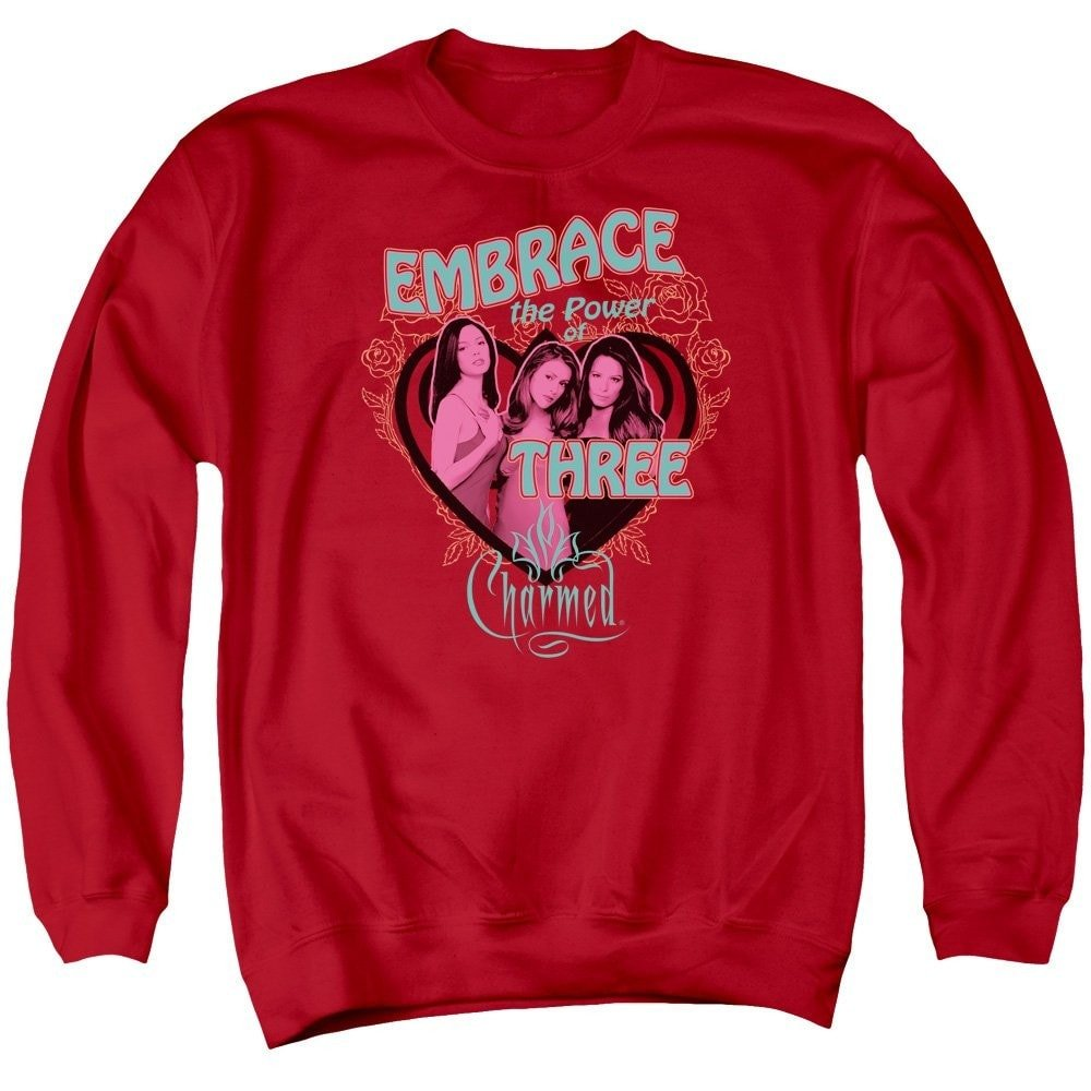 Embrace The Power Adult Crewneck Sweatshirt Charmed