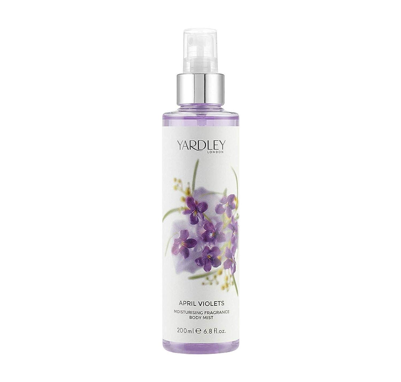 Fragancia April Violets de Yardley London 200 ml HCL Y9200025-6