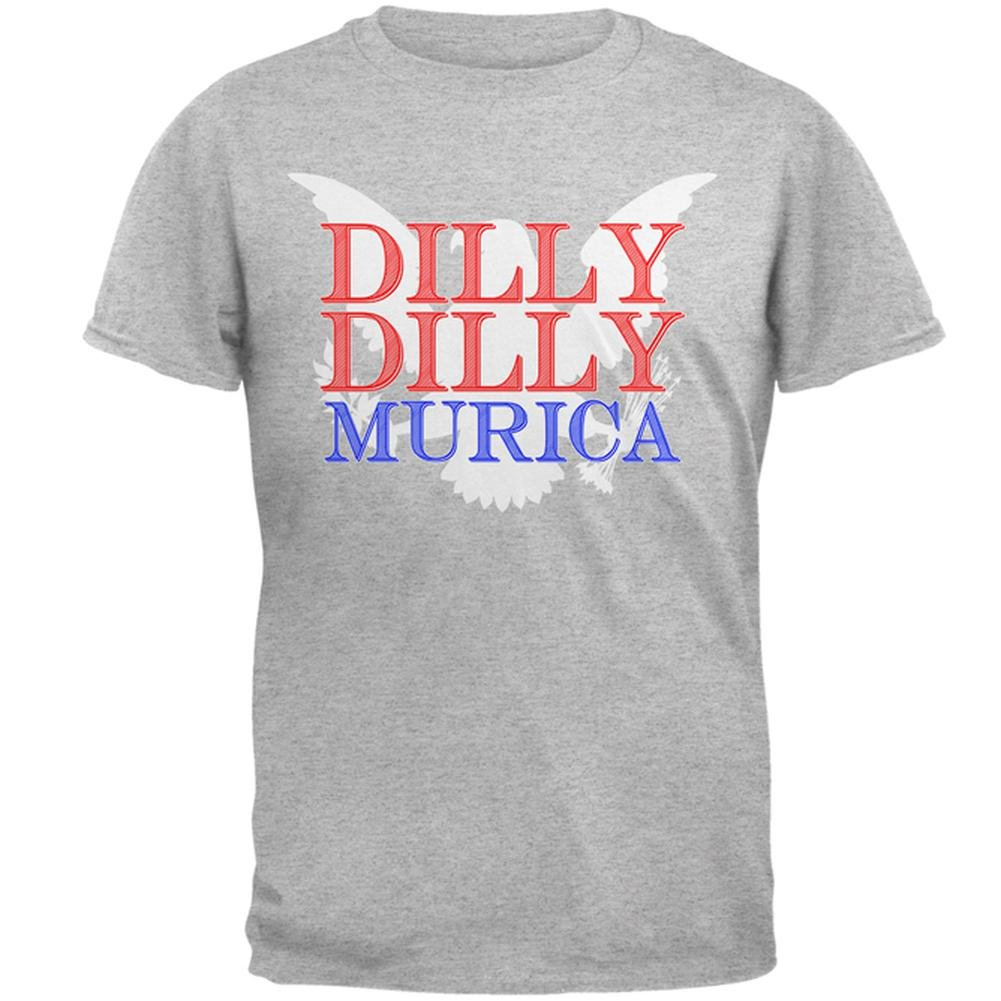 Amazon.com  Old Glory 4th of July Dilly Dilly Murica Mens T Shirt  Clothing 3f11dc2bf