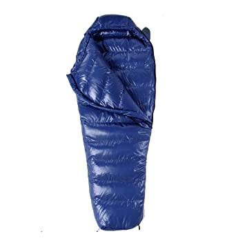 Yy.f Ultraligero Abajo Pato Abajo Sacos De Dormir Momia Portable El Adulto Acampar Al Aire Libre Senderismo Saco De Dormir,Blue-205*80cm: Amazon.es: ...