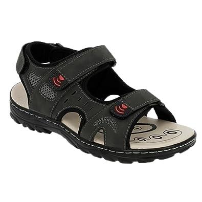 Herren Trekking Sandale Pantoletten Sommer Schuhe Sandalen