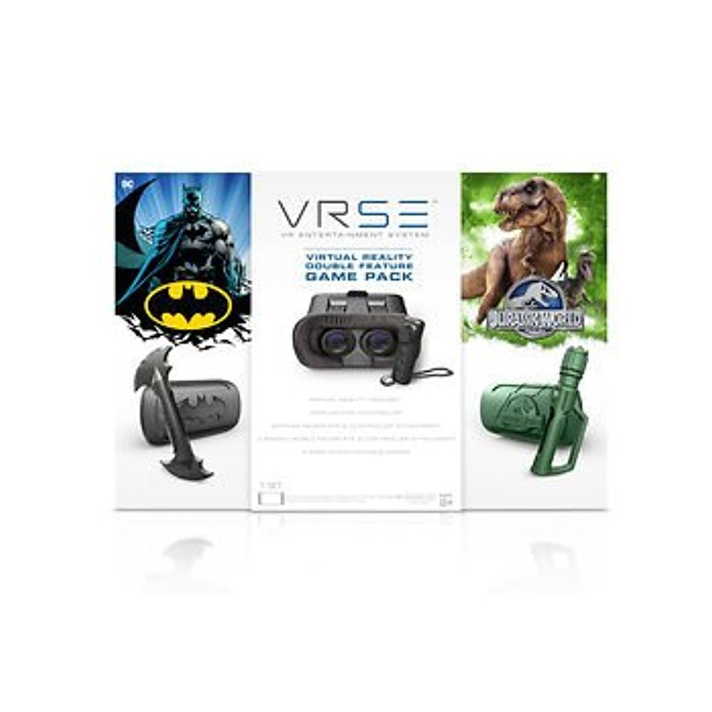 VRSE Batman/Jurassic Park Virtual Reality Headset Combo Pack
