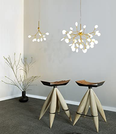 Pendentif Moderne Lampe27 Têtes Creative Masrou Sputnik Luminaire Suspendu Lustre Éclairage Branches Firefly Plafond Led OZuTXwPkli