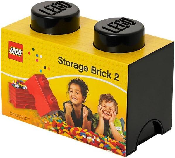 LEGO Black Storage Box Brick 2