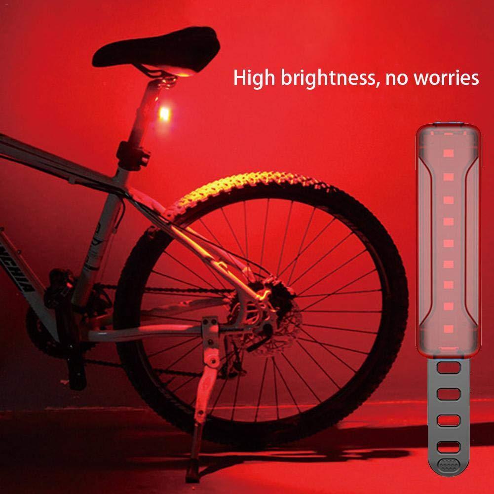 Advertencia Impermeable Rubyu LED Luces Bicicleta Reflector Bici Seguridad Faro de Se/ñal Luz Trasera de Bicicleta