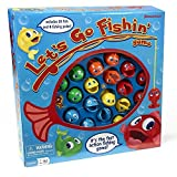Go Fishin Game Toy Let S Pressman Fishing 4 Action Kids Todlers Lets Board Set