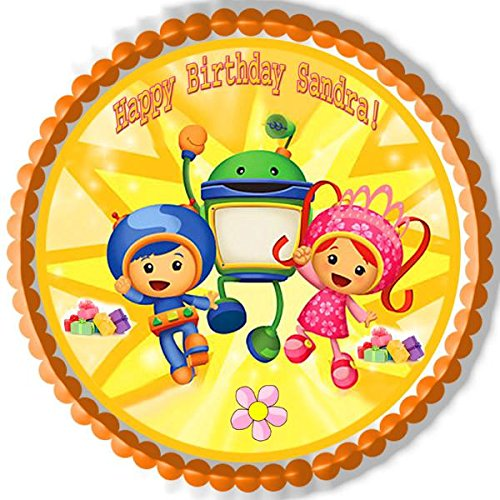 (Team Umizoomi (Nr2) - Edible Cake Topper - 6