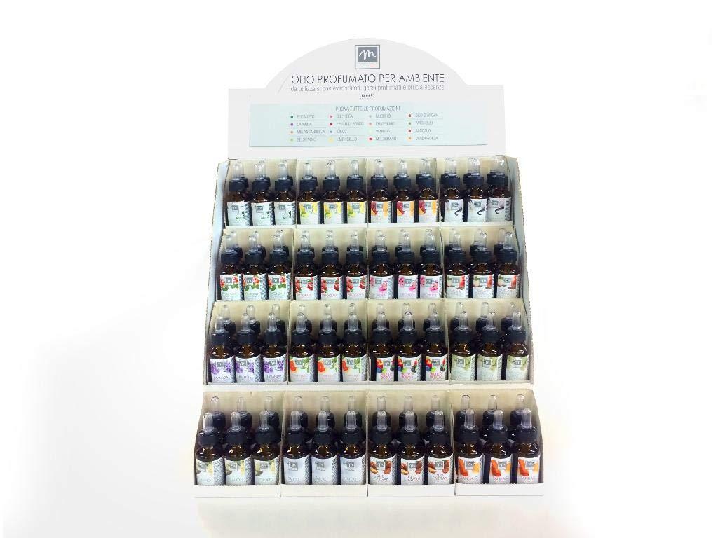 GIRM®® - ME02005 Olio Essenziale con gocciolatore 15ml. 16 fragranze assortite