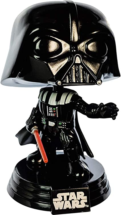 Funko POP Smuggler's Bounty Exclusive #157 Darth Vader W//Protector Star Wars