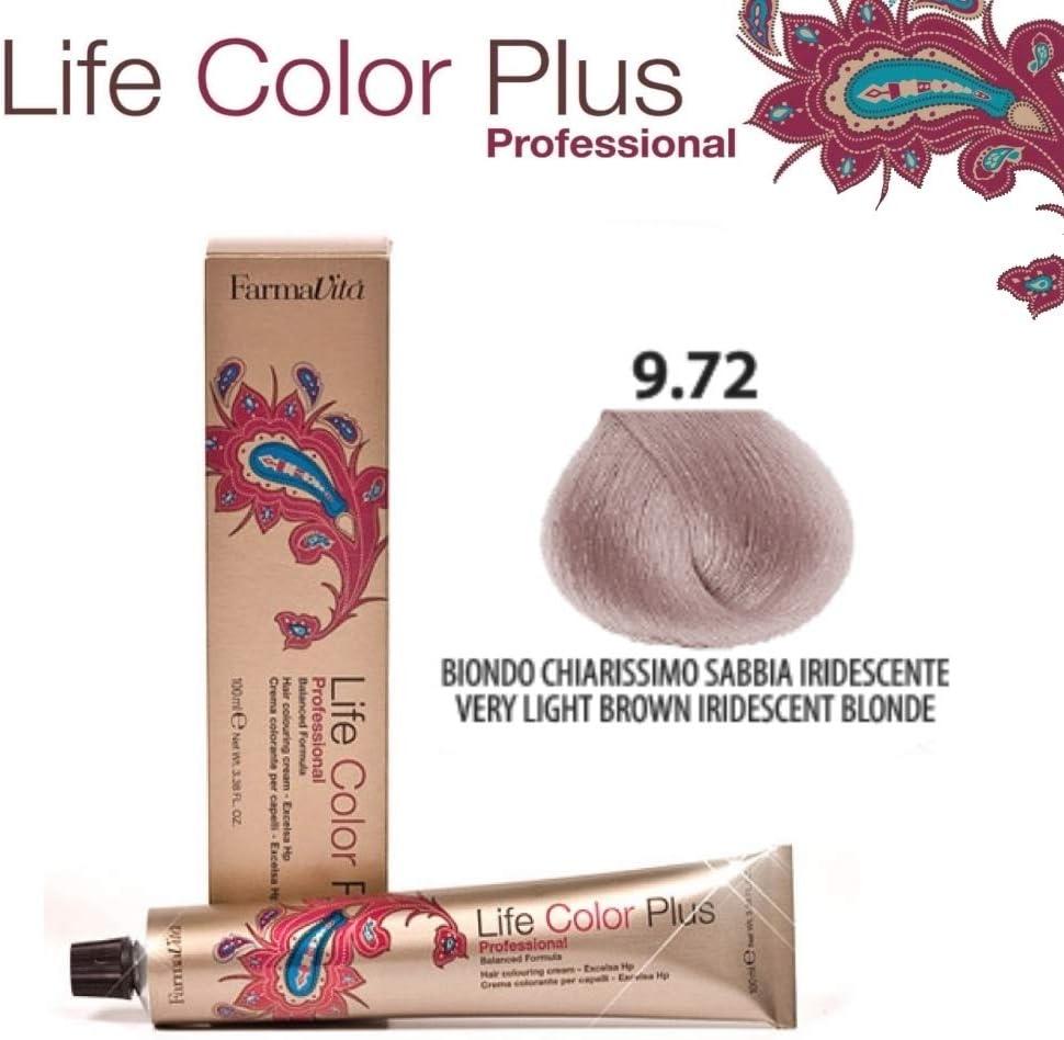 FarmaVita Life Color Plus Tinte Capilar 9.72-90 ml (8022033102126)