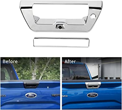 2015-2016 Ford F150 Truck 4 Door Front+Rear Chrome Trim Body Side Molding 4pcs