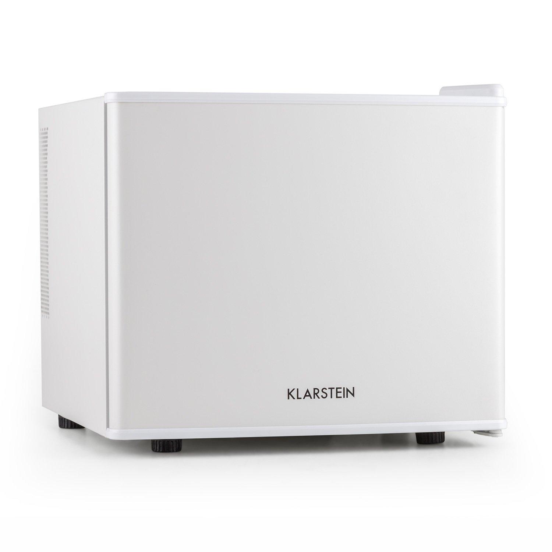 KLARSTEIN Secret Hiding Place Mini Fridge • Refrigerator • Mini Bar • Cooler • 0.6 Cubic Feet • 50W • Cooling Temperature Between 4.5 and 15°C (40—59°F) • Low Operating Noise • White Housing