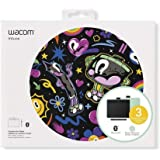 "Wacom CTL4100WLE0 Intuos Wireless Graphics Drawing Tablet with Software Included, 7.9"" X 6.3"", Pistachio"
