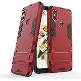 Funda para Xiaomi Mi 6X / Mi A2 (5,99 Pulgadas) 2 en 1 Híbrida Rugged Armor Case Choque Absorción Protección Dual Layer…