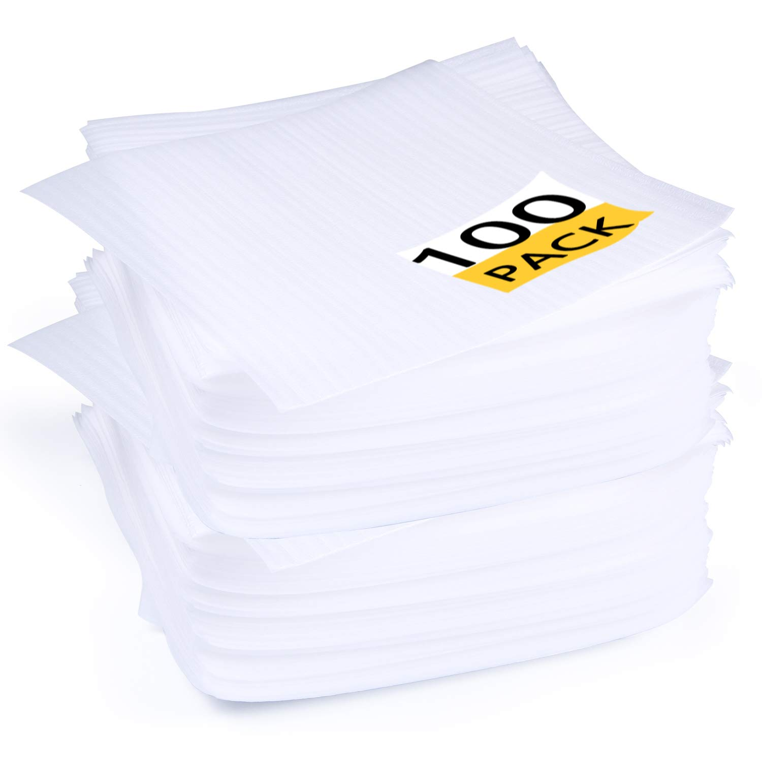 Foam Wraps,12'' x 12'' (100 Pack) Foam Wrap Sheets Cushioning Protect Glasses, China, Dishes for Moving Shipping Packing & Storing