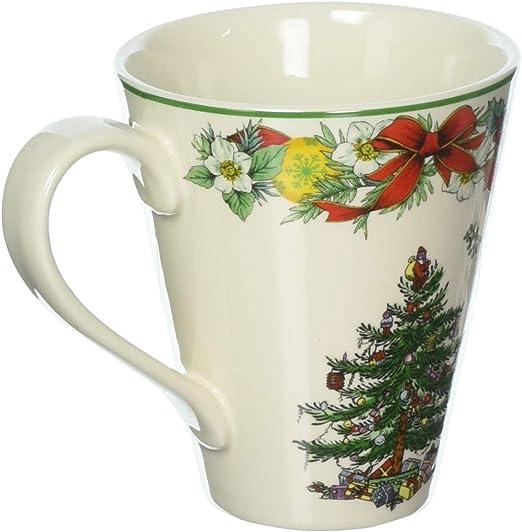 Spode Christmas-Tree 2020 Annual Edition Christmas-Plate; White, Green And Red Amazon.com: Spode Christmas Tree Annual Mandarin Mug: Kitchen & Dining