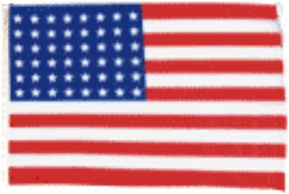 "12x18 12""x18"" 48 Star USA American Sleeve Flag Boat Car Garden"